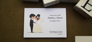 śmieszne zaproszenie ślubne