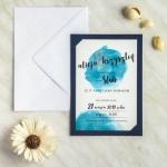 Zaproszenia ślubne z fotografią narzeczonych